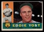 1960 Topps #245   Eddie Yost Front Thumbnail