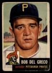 1953 Topps #48   Bobby Del Greco Front Thumbnail
