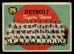 1959 Topps #329  Tigers Team Checklist  Front Thumbnail