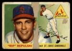 1955 Topps #55  Rip Repulski  Front Thumbnail