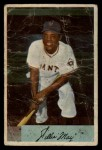 1954 Bowman #89   Willie Mays Front Thumbnail