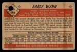 1953 Bowman #146  Early Wynn  Back Thumbnail