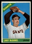 1966 Topps #496   Lindy McDaniel Front Thumbnail