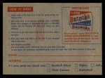 1957 Topps #0  CC1 Contest Card May 4th -    Back Thumbnail
