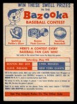 1957 Topps #0  CC1 Contest Card May 4th -    Front Thumbnail