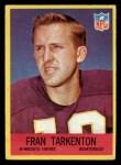 1967 Philadelphia #106  Fran Tarkenton  Front Thumbnail