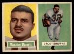 1957 Topps #64   Maurice Bassett Front Thumbnail