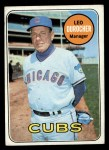 1969 Topps #147  Leo Durocher  Front Thumbnail