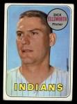 1969 Topps #605  Dick Ellsworth  Front Thumbnail