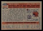 1957 Topps #297   Jack Crimian Back Thumbnail