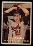 1957 Topps #28   Gene Conley Front Thumbnail
