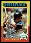 1975 Topps #50   Brooks Robinson Front Thumbnail