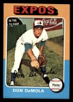 1975 Topps Mini #391   Don DeMola Front Thumbnail