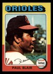 1975 Topps Mini #275   Paul Blair Front Thumbnail