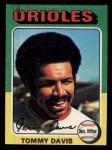 1975 Topps Mini #564   Tommy Davis Front Thumbnail