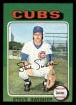 1975 Topps Mini #63   Steve Swisher Front Thumbnail
