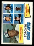1977 Topps #113  Blue Jays Field Leaders  -  Roy Hartsfield / Don Leppert / Bob Miller / Harry Warner / Jackie Moore Front Thumbnail