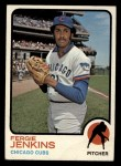 1973 Topps #180  Fergie Jenkins  Front Thumbnail