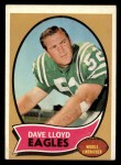1970 Topps #21   Dave Lloyd Front Thumbnail