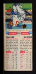 1955 Topps Doubleheaders #85  Elmer Valo / Hector Brown  Back Thumbnail