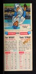 1955 Topps Doubleheaders #75  Tom Wright / Vernon Stewart  Back Thumbnail
