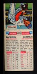 1955 Topps Doubleheaders #79   Roy Sievers / Art Fowler Back Thumbnail