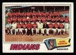 1977 Topps #18  Indians Team Checklist  -  Frank Robinson Front Thumbnail