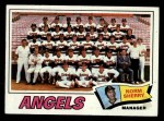 1977 Topps #34  Angels Team Checklist  -  Norm Sherry Front Thumbnail