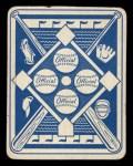 1951 Topps Blue Back #9  Johnny Sain  Back Thumbnail