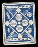 1951 Topps Blue Back #30  Enos Slaughter  Back Thumbnail