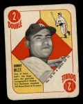 1951 Topps Blue Back #50   Johnny Mize Front Thumbnail