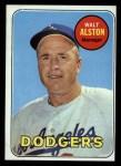 1969 Topps #24 ERR  Walter Alston   Front Thumbnail