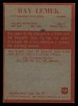 1965 Philadelphia #149  Ray Lemek   Back Thumbnail