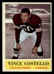 1964 Philadelphia #32   Vince Costello    Front Thumbnail