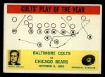 1964 Philadelphia #14  Baltimore Colts  -  Don Shula Front Thumbnail