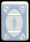 1971 Topps Game Inserts #3  Joe Namath  Back Thumbnail