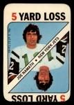 1971 Topps Game Inserts #3  Joe Namath  Front Thumbnail