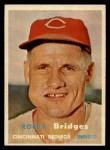 1957 Topps #294  Rocky Bridges  Front Thumbnail
