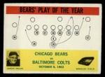 1964 Philadelphia #28   -  George Halas Chicago Bears Front Thumbnail