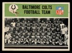 1965 Philadelphia #1   Baltimore Colts Front Thumbnail