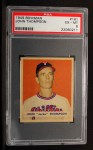 1949 Bowman #161   Jocko Thompson Front Thumbnail
