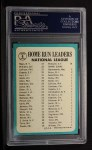 1965 Topps #4  1964 NL Home Run Leaders  -  Johnny Callison / Orlando Cepeda / Jim Hart / Willie Mays / Billy Williams Back Thumbnail
