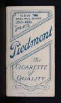 1909 T206 #1 BLU Ed Abbaticchio  Back Thumbnail