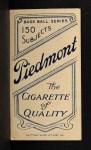 1909 T206 #477 DOT Lee Tannehill  Back Thumbnail