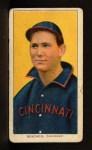 1909 T206 #40 POR Bob Bescher  Front Thumbnail