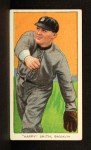 1909 T206 #450 BRK Happy Smith  Front Thumbnail