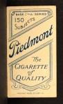 1909 T206 #117   Bill Dahlen Back Thumbnail