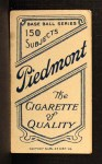 1909 T206 #2   Ed Abbaticchio Back Thumbnail