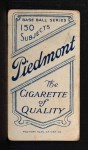 1909 T206 #282 P Lefty Leifield  Back Thumbnail