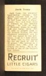 1912 T207 #99   Jack Lapp   Back Thumbnail